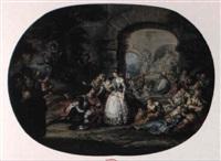 roland et le mariage d'angélique by alexandre paul joseph veron