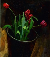 tulips by henri frédéric boot