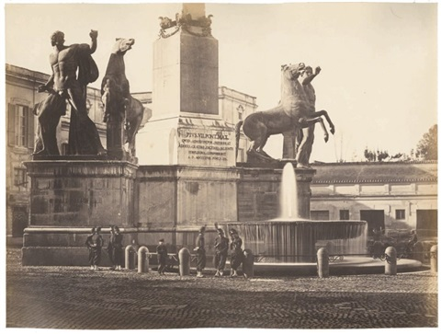 soldats français sur le quirinal by pompeo molins and gioacchino altobelli