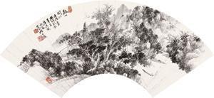 山水 by qi dakui