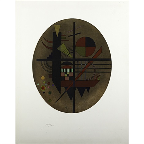 intime mitteilung by wassily kandinsky