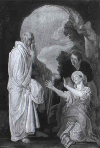 Elisha And The Shunammite Woman By Pieter Lastman