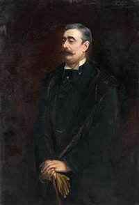 portrait du marquis de miramon by stephen jacob