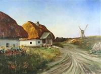 ukrainian village by mikhail sidorovich vasilev