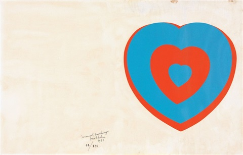 fluttering hearts by marcel duchamp