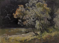 on the yarra by theodore penleigh boyd