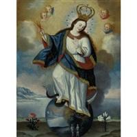 apocalyptic virgin of quito by josé cortez de alcocer