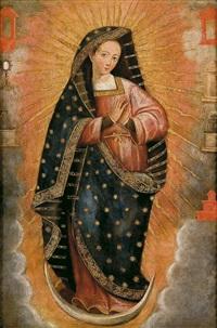 inmaculada rodeada de las letanías by peruvian school-cuzco (18)