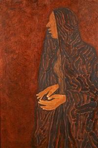 portrait of a woman by shamshad husain
