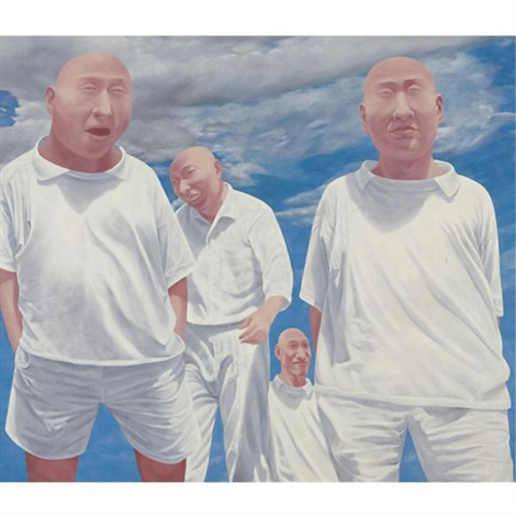 series 2 no 6 by fang lijun