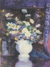 vase of flowers by ellen day hale