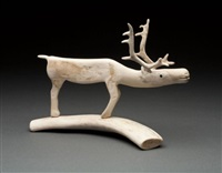 caribou by peter assivaaryuk