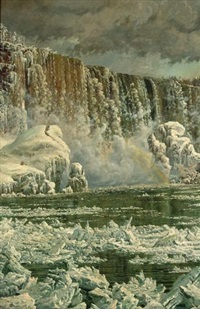 niagara falls in winter by peter caledon cameron