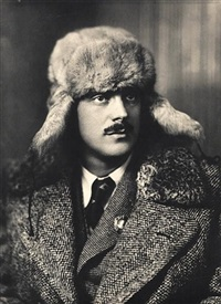 the writer sergei mikhalkov by nikolai svishchov-paola