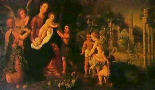 madonna mit kind und engeln by wilhelm schubert van ehrenberg