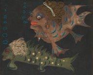 monsieur et madame de mandiargues en poisson by lou laurin-lam