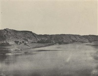 nubie, rive orientale du nil by maxime du camp