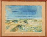 dunes et bord de mer by henri victor wolvens