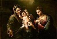 la vergine, il bambino e sant' anna by giacomo farelli