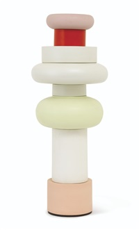 flavia series - totem no. 4 (in 8 parts) by ettore sottsass