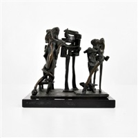 modernist bronze sculpture by abbott pattison
