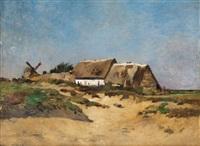 moulin à cayeux by edmond charles joseph yon