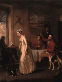 the leicestershire lass by george clint