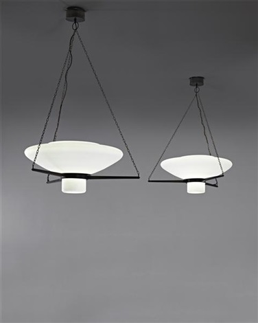 Asplund Ceiling Lights (pair) By Erik Gunnar Asplund