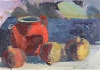 onions and teapot by brian ballard