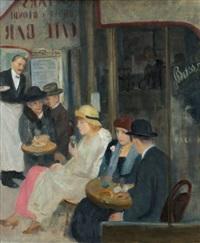 pařížská kavárna by josef multrus