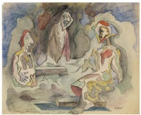 three figures by walter quirt