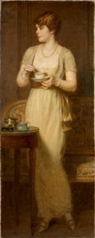 portrait de madame lucien graux, née léontine de flavigny by marcel andre baschet