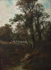 sylvan landscape by james poole