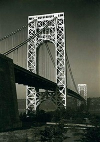 georges washington bridge new york by david w. corson