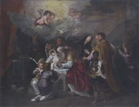 die beschneidung christi im tempel by nicolas (roose) de liemaker