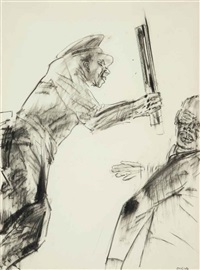 untitled by leon golub
