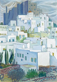 patmos (+ landscape; 2 works) by valias semertzides