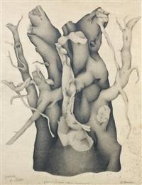 racine (study) by georges bauquier