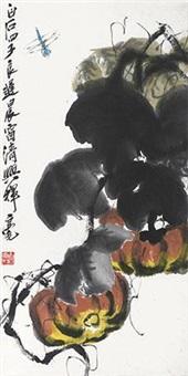 南瓜蜻蜓 by qi liangchi
