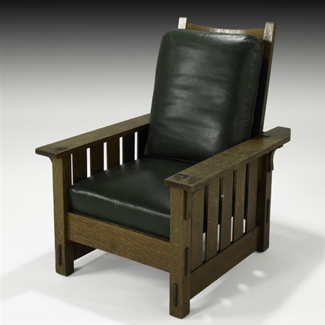 Awe Inspiring Morris Chair No 332 With Drop In Spring Seat By Gustav Machost Co Dining Chair Design Ideas Machostcouk