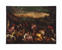 spring by francesco bassano the younger