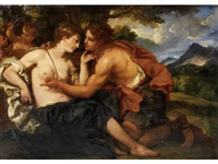 venus and adonis by johann karl loth