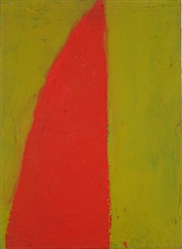 red wedge green field by thornton willis