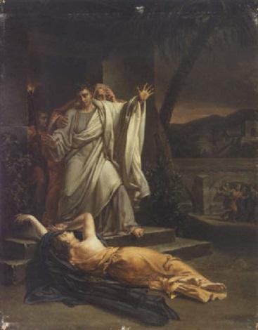 scène tirée de l'antiquité by louis-charles-auguste couder