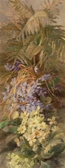 étude de fleurs de sous-bois (study) by theresa maria hegg