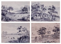 scenes of aboriginal life by caroline le souef