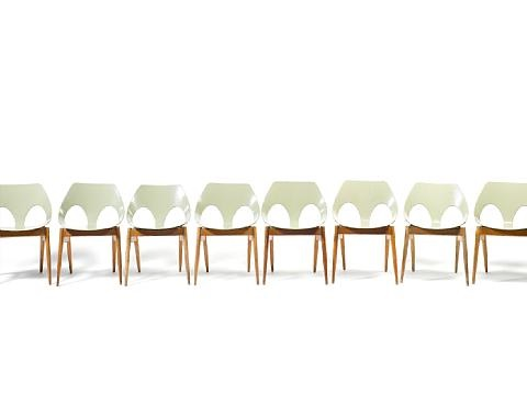 jason chairs (set of 8) by carl jacobs