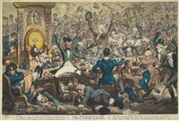the union club by james gillray