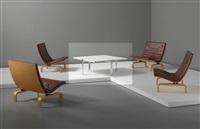 coffee table, model no. pk 65 by poul kjaerholm
