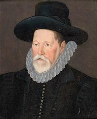 portrait d'un administrateur by british school (16)